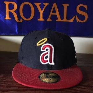 New Era Throwback Los Angeles Angels Halo Hat